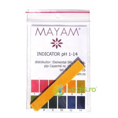 Hartie Indicator Ph 1-14 Set 10buc MAYAM
