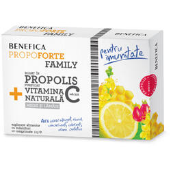 Propoforte Family Propolis Si Vitamina C 10cpr BENEFICA
