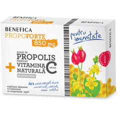 Propoforte 850mg Propolis Si Vitamina C 10cpr BENEFICA