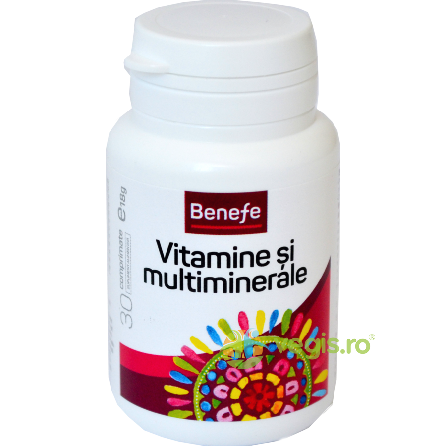 benefe vitamine si multiminerale 30cpr