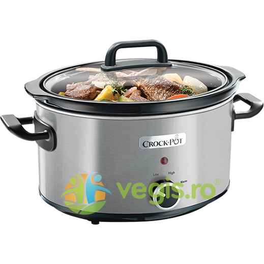 Crock-Pot Aparat de gatit Crock Pot slow cooker 3.5 L, inox