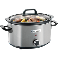 Aparat de gatit Crock Pot slow cooker 3.5 L, inox Crock-Pot