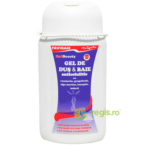 Gel de Dus Anticelulitic 300ml FAVISAN