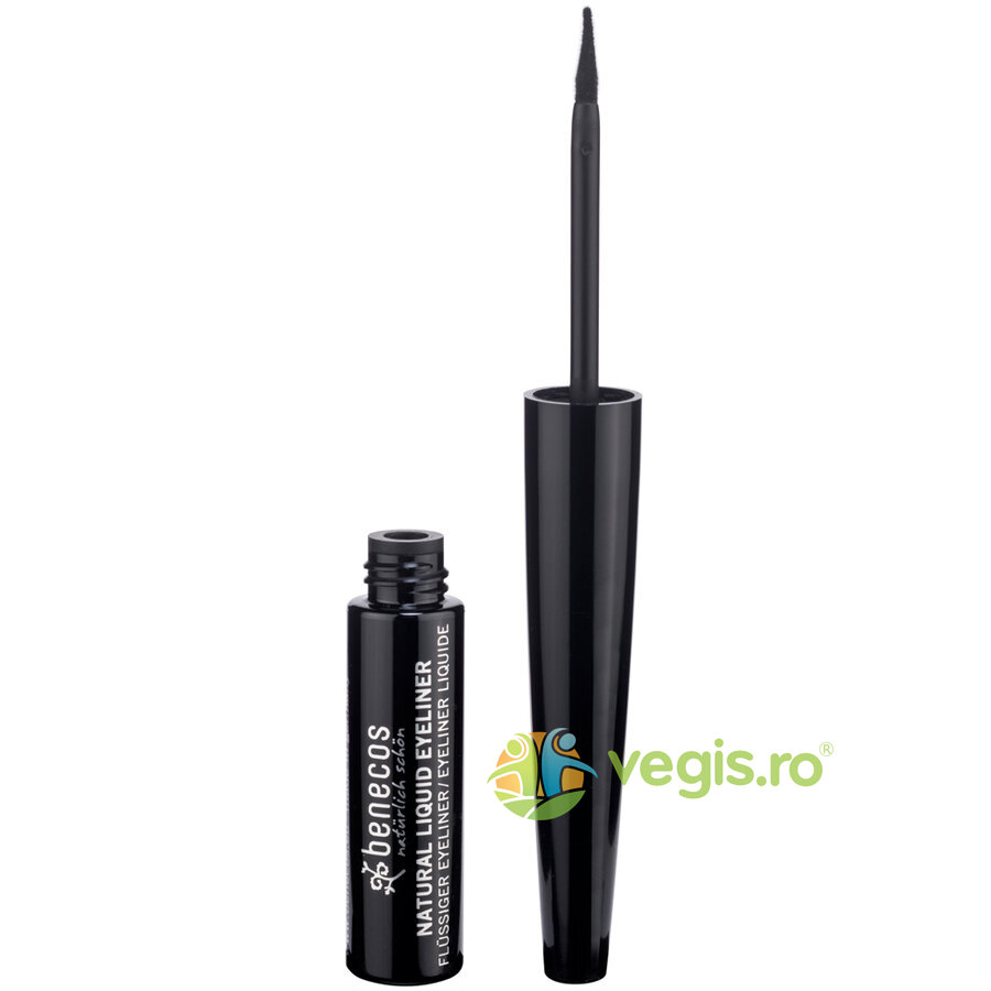 BENECOS Tus Natural Liquid Eyeliner Black 3ml