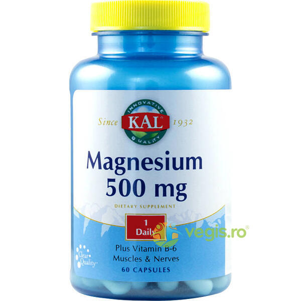 Magnesium 500Mg 60Cps KAL
