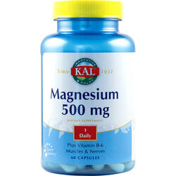 Magnesium 500Mg 60Cps