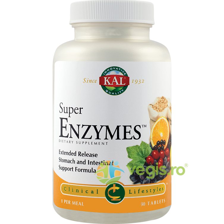 KAL Super Enzymes 30Cpr
