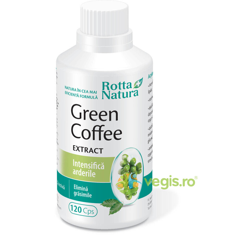 ROTTA NATURA Green Coffee Extract 120Cps