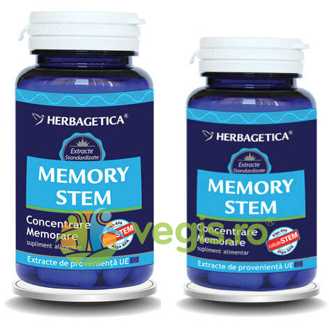 HERBAGETICA Memory Stem 60Cps+30Cps Promo