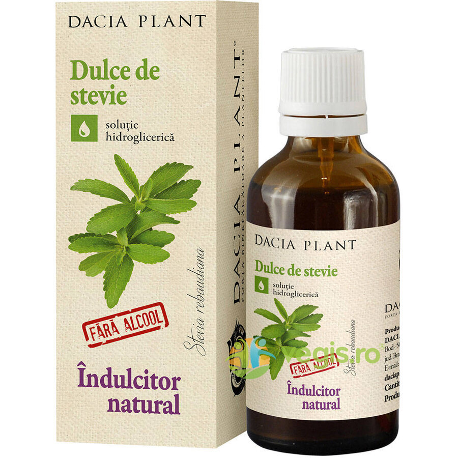 DACIA PLANT Dulce De Stevie Indulcitor Natural 50ml