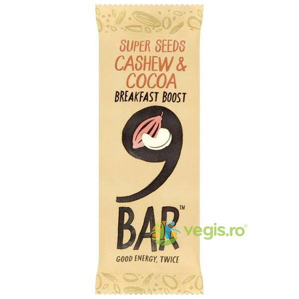 Baton Caju&Cacao Breakfast Boost 50g 9BAR