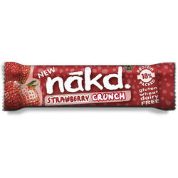 Baton Strawberry Crunch 30g NAKD.