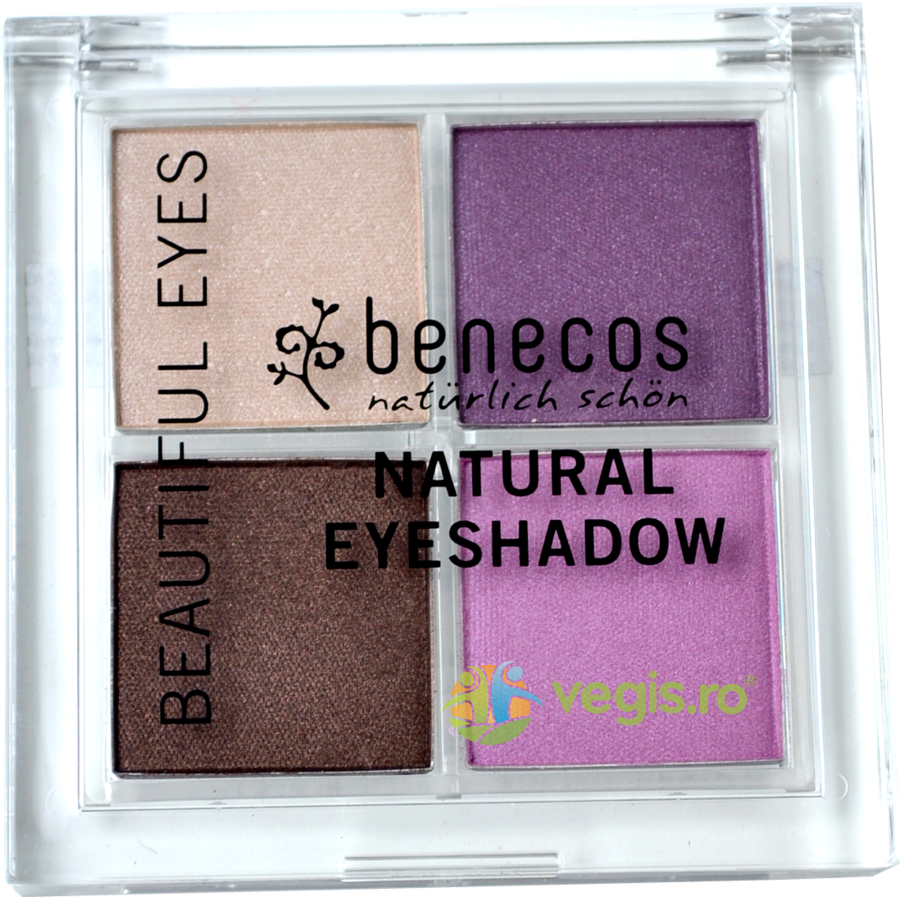 BENECOS Fard De Pleoape QUATTRO Beautiful Eyes 001