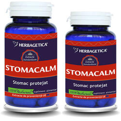 Stomacalm 60Cps+30Cps Promo HERBAGETICA