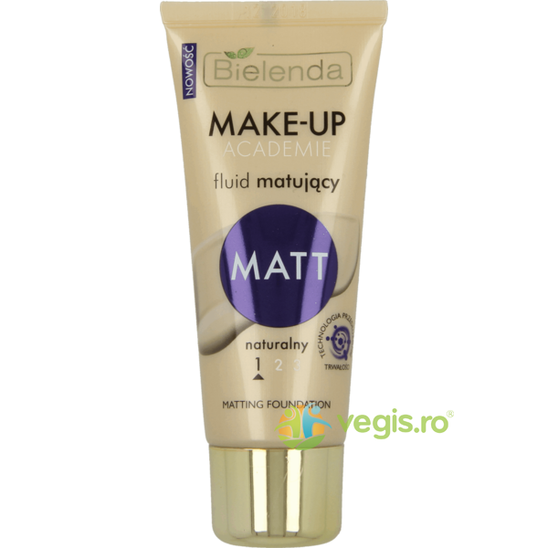 Fond de Ten Matifiant Natural 30g BIELENDA
