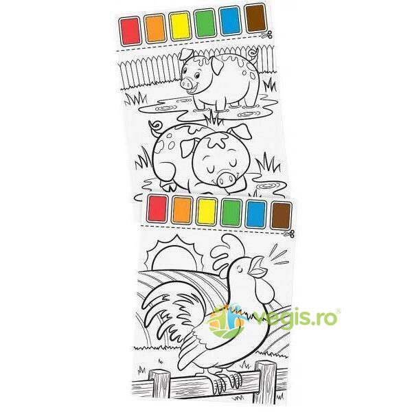 Set de pictura cu apa Ferma Melissa and Doug