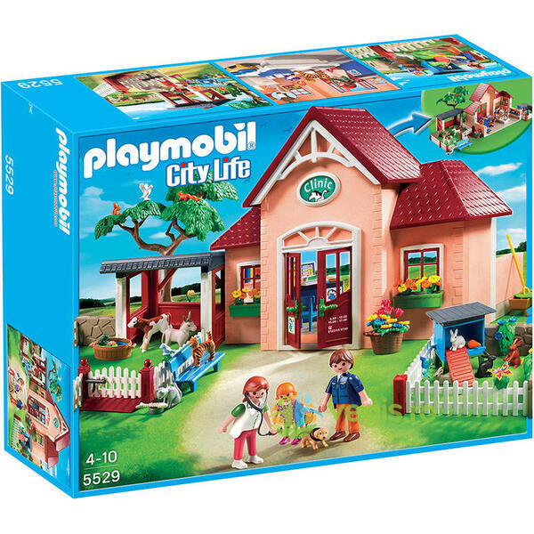 Playmobil - Clinica veterinara 4-10 ani