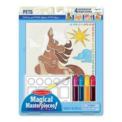 Set pictura 4 scene Animale 6 ani+ Melissa and Doug