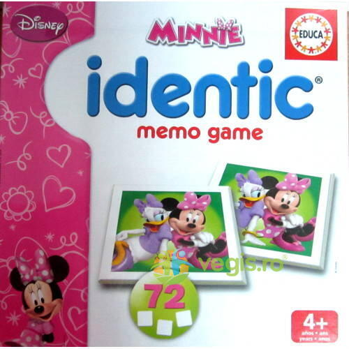 Minnie identic memo game Educa