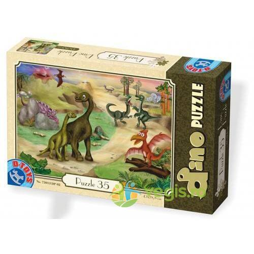 Dino Puzzle 35  (73013-02) D TOYS