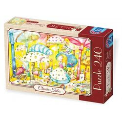 Puzzle 240 - Classic tales: Alice in Tara Minunilor D TOYS