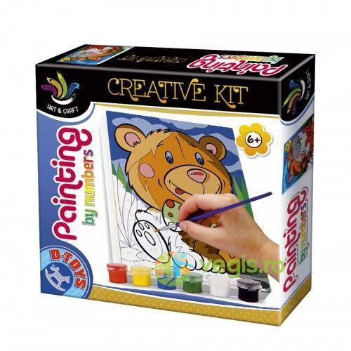 Painting by numbers - Creative kit - Tigrut D TOYS