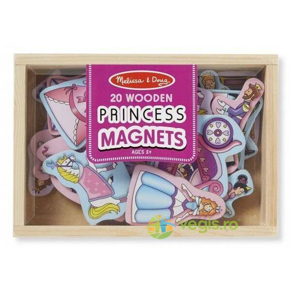 Printese magnetice din lemn 3 ani + Melissa And Doug
