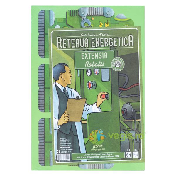 Reteaua Energetica - Ext. Robotii IDEAL BOARD GAMES