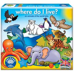 Joc educativ Loto Habitate - Where Do I Live ORCHARD TOYS