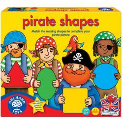 Joc educativ Formele piratilor - Pirate Shapes ORCHARD TOYS