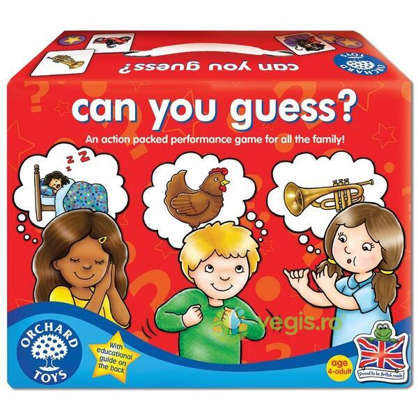 Joc educativ Poti ghici? - Can you Guess? ORCHARD TOYS