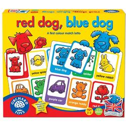 Joc educativ engleza Loto catelusii - Red dog Blue dog ORCHARD TOYS
