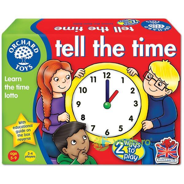 Joc educativ engleza Loto Citeste ceasul - Tell the Time ORCHARD TOYS