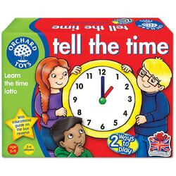 Joc educativ engleza Loto Citeste ceasul - Tell the Time