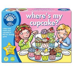 Joc educativ engleza Briosa - Where s my Cupcake? ORCHARD TOYS