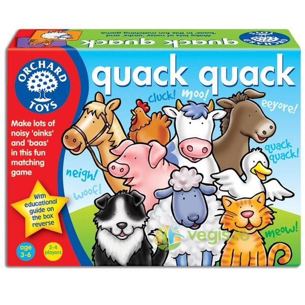 Joc educativ Mac, mac - Quack, Quack ORCHARD TOYS