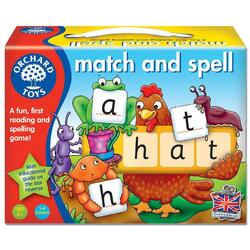 Joc educativ engleza Potriveste si formeaza cuvinte - Match and Spell ORCHARD TOYS