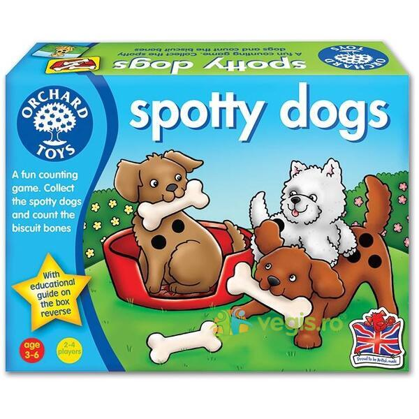 Joc educativ Catelusii patati - Spotty Dogs ORCHARD TOYS