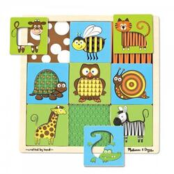 Joc de asociere Animale 3 ani+ Melissa and Doug