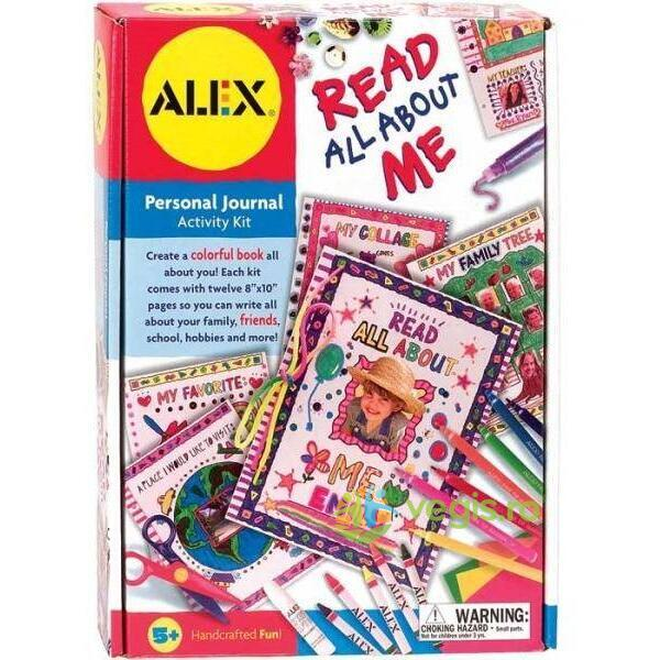 Cartea mea despre mine 5 ani+ Melissa and Doug ALEX TOYS