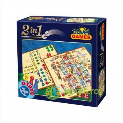 2 in 1 Travel games D TOYS