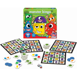 Joc educativ  Bingo - Monstruletii simpatici ORCHARD TOYS