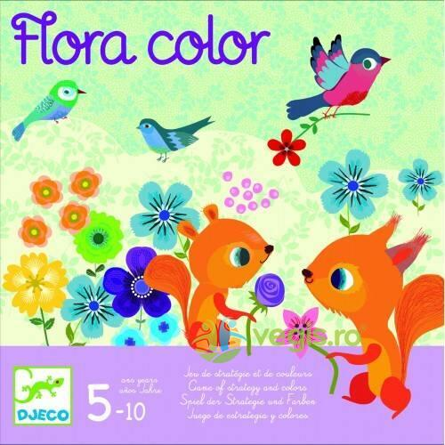 Joc de strategie Flora color Djeco