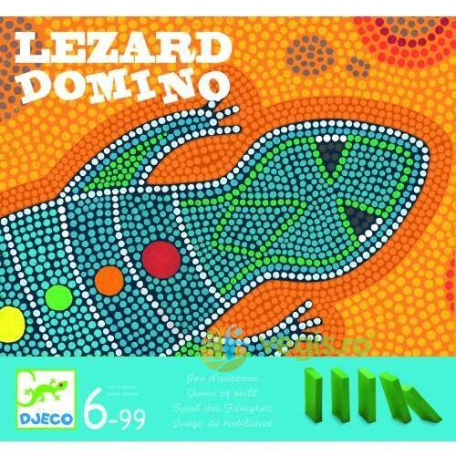 Joc de societate Domino Djeco Lezard