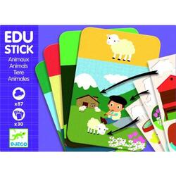 Edu-Stick Djeco stickere educative animale