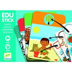 Edu-stick Djeco Stickere educative Anotimpuri