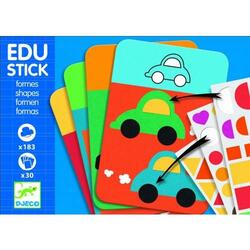 Edu-stick Djeco stickere educative forme