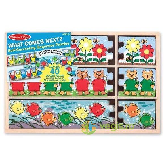 Puzzle secvential - Ce urmeaza Melissa and Doug