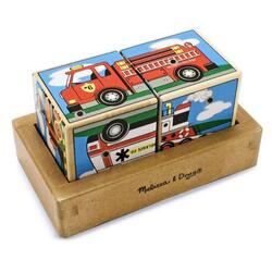 Cuburi sonore - Vehicule Melissa And Doug