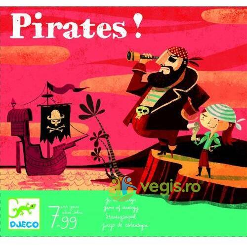 Joc de strategie Djeco Pirati